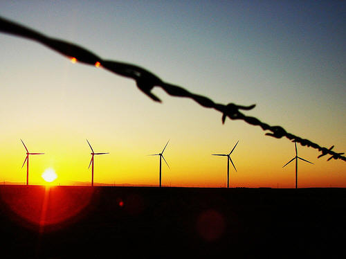 A view of one of the Saudi Arabias of wind -- Texas