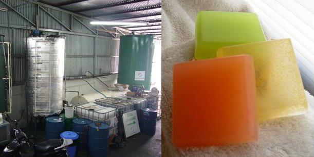 biodiesel soap