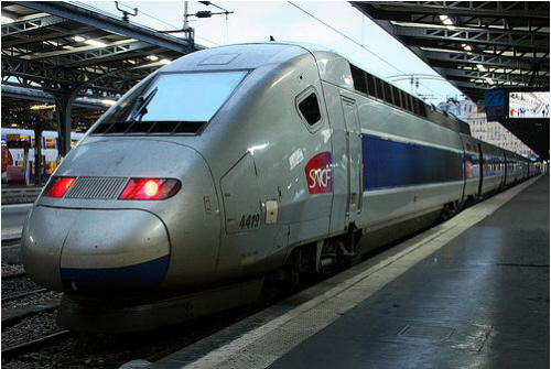 french high speed train