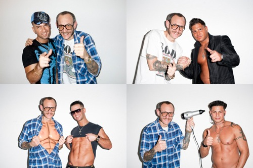 terry richardson the jersey shore photoshoot Terry Richardson x The Jersey Shore Photoshoot