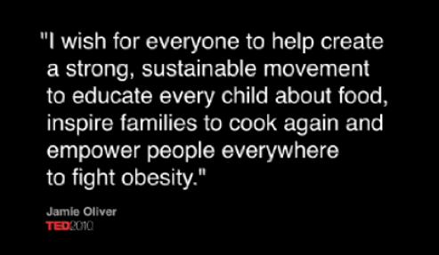 Jamie Oliver, TED Prize