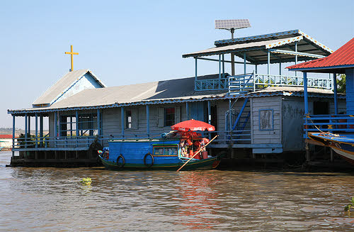 cambodia solar church