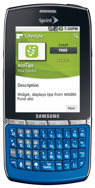 samsung replenish green smart phone