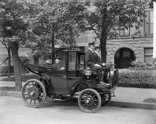 1906 Krieger electric vehicle