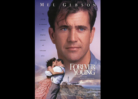 mel gibson young. FOREVER YOUNG (1992)
