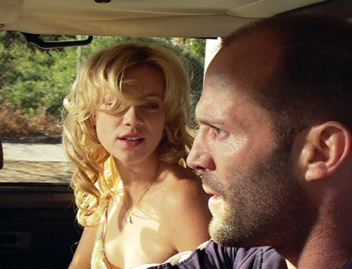 Public sex in CRANK (2006). Jason Statham's character is injected with a ...