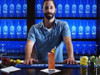 Cocktail featuring GREY GOOSE® L'Orange Vodka