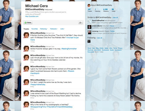 Michael Cera is a polarizing celebrity. Some people think that he is a sweet ...