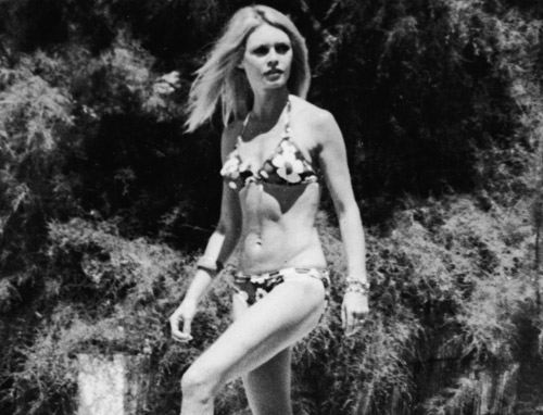 When Brigitte attends the 1953 Cannes Film Festival in a bikini, ...